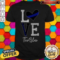 Official Love The Blue Shirt