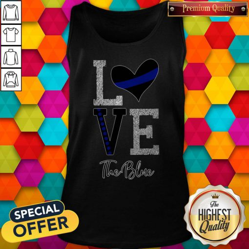 Official Love The Blue Tank Top