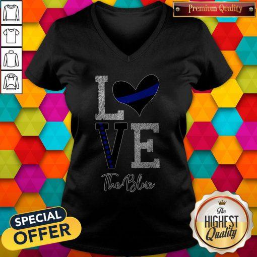 Official Love The Blue V-neck