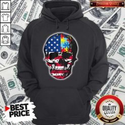 Official Skull America Puzzle Hoodie