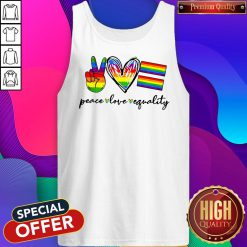 Peace Love Equality Lgbt Tank Top