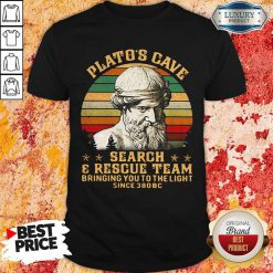 Platos Cave Search And Rescue Team Vintage Shirt