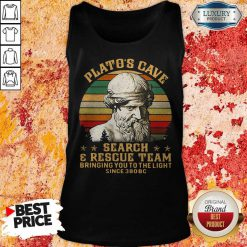 Platos Cave Search And Rescue Team Vintage Tank Top