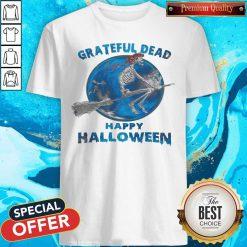 Skeleton Witch Grateful Dead Happy Halloween Shirt