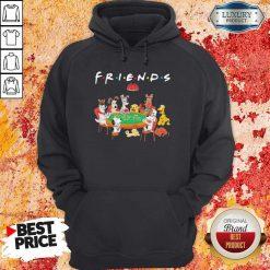 Spoony Dogs Playing Poker Friends Hoodie