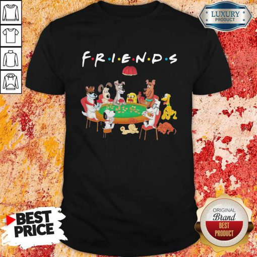 Spoony Dogs Playing Poker Friends Shirt