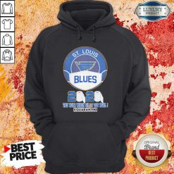 St Louis Blues Mask 2020 The Year When Shit Got Real Quarantine Hoodie