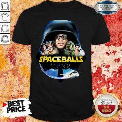 Star Wars Darth Vader Spaceballs Movie Characters Retro 80s Shirt