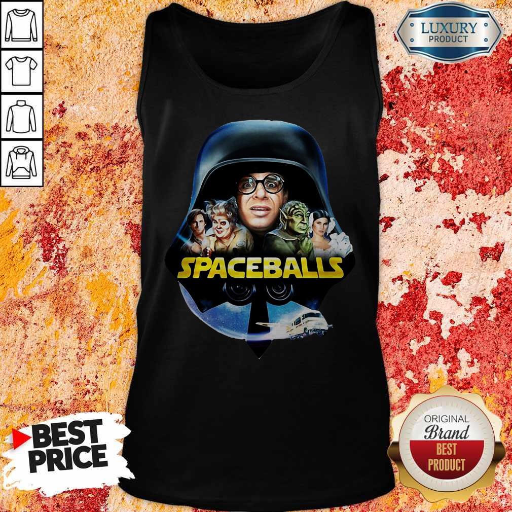Star Wars Darth Vader Spaceballs Movie Characters Retro 80s Tank Top