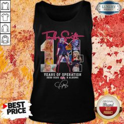 Taylor Swift 14 Years Of Operation 2006-2020 8 Albums Signature Tank Top