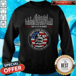 Thank You For The Memories Grand Funk Railroad The American Band Sweatshirt