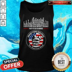 Thank You For The Memories Grand Funk Railroad The American Band Tank Top