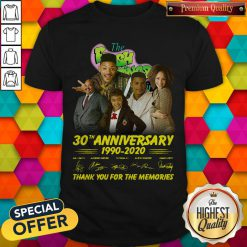 The Fresh Prince 30th Anniversary 1990 2020 Thank You For The Memories Signatures Shirt