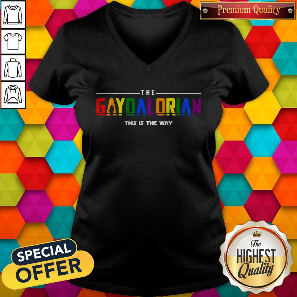 The Gaydalorian This Is The Way V-neck
