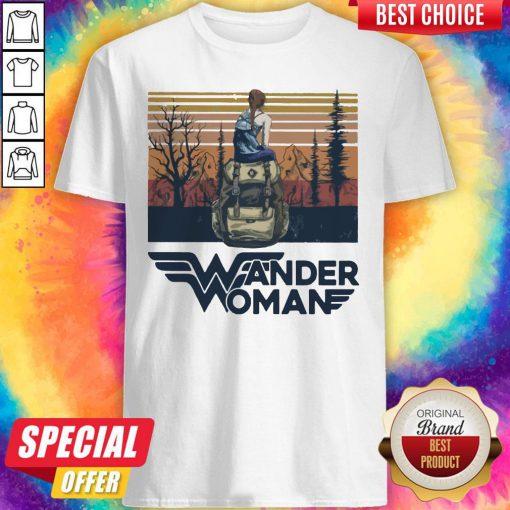 Top Wonder Woman Vintage Shirt