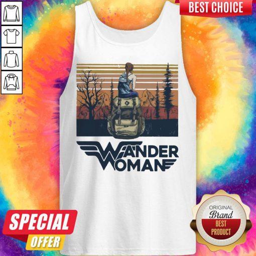 Top Wonder Woman Vintage Tank Top