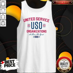 United Service USO 2020 Organizations A Force For Good Tank Top