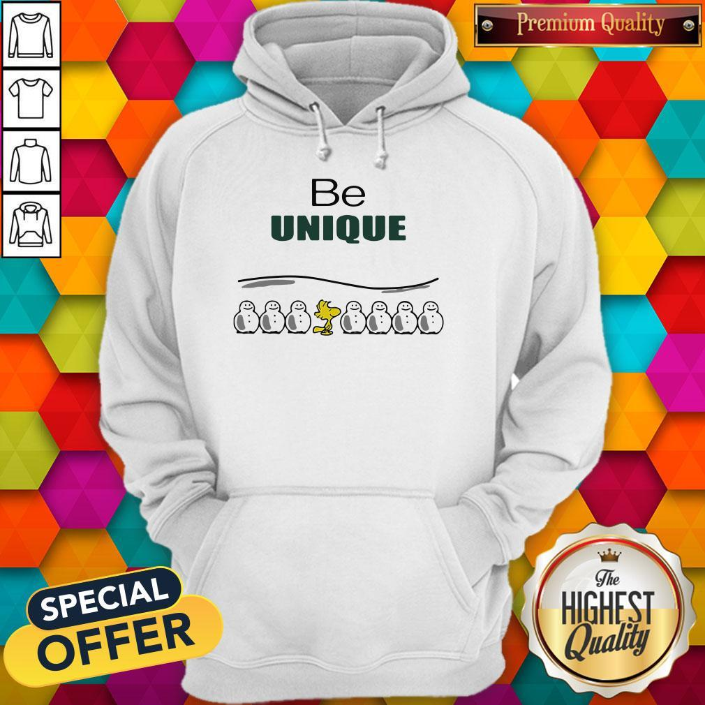 Woodstock And Snowman Be Unique Hoodie