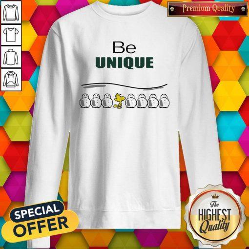 Woodstock And Snowman Be Unique Sweatshirt