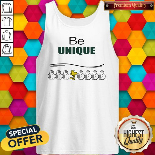 Woodstock And Snowman Be Unique Tank Top