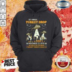 1st Annual Turkey Drop November 22 1978 Hoodie