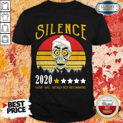 Achmed Silence 2020 Very Bad Would Not Recommend Vintage Shirt