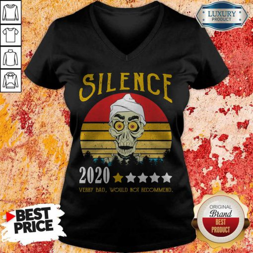 Achmed Silence 2020 Very Bad Would Not Recommend Vintage V-neck