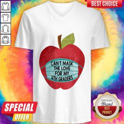 Apple Can't Mask The Love For 4th Graders V-neck