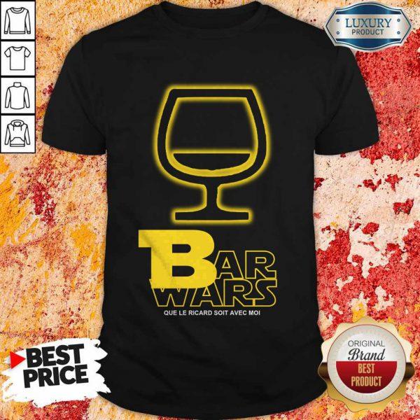 Bar Wars Que Le Ricard Soit Avec Moi Shirt