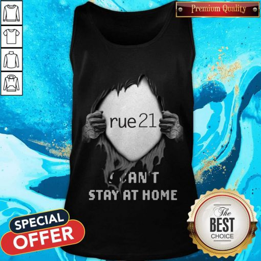 Blood Inside Me Rue21 I Can't Stay At Home Tank Top