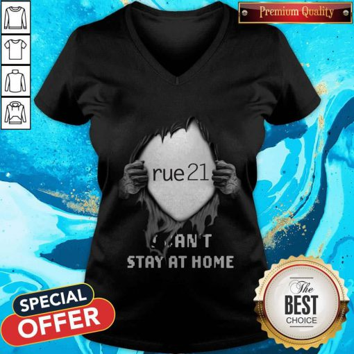 Blood Inside Me Rue21 I Can't Stay At Home V-neck