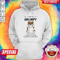 Boxer Dog I Am So Grumpy I Am Not Even Talking To My Self Hoodie