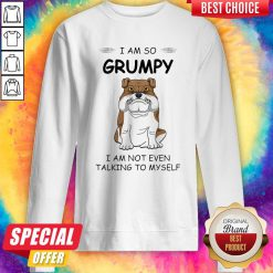 Boxer Dog I Am So Grumpy I Am Not Even Talking To My Self Sweatshirt