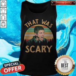 Dean Winchester That Was Scary Vintage Tank Top