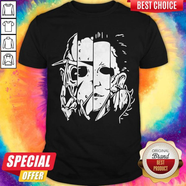 Freddy Jason Michael Thomas Shirt Horror Shirt Halloween Shirt