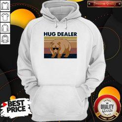 Funny Bear Hug Dealer Vintage Hoodie