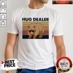 Funny Bear Hug Dealer Vintage Shirt