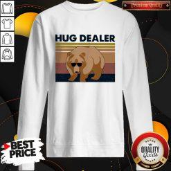 Funny Bear Hug Dealer Vintage Sweatshirt