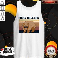 Funny Bear Hug Dealer Vintage Tank Top