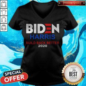 Funny Biden Harris Build Back BetFunny Biden Harris Build Back Better 2020 V-neckter 2020 V-neck
