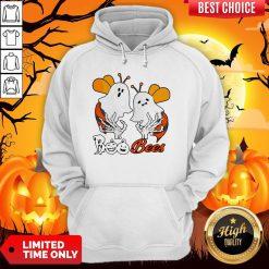 Funny Boo Bees Boob Halloween Hoodie