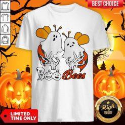 Funny Boo Bees Boob Halloween Shirt