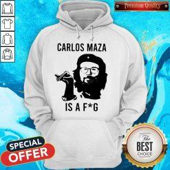 Funny Carlos Maza Is A Fag Hoodie