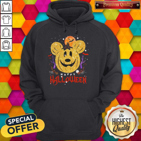 Funny Mickey Mouse Happy Halloween Hoodie