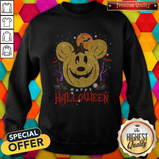 Funny Mickey Mouse Happy Halloween Sweatshirt