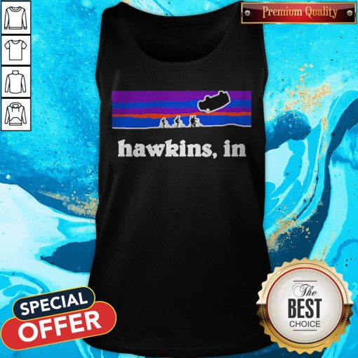 Funny Official Hawkins In Tank Top
