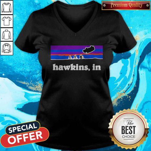 Funny Official Hawkins In V-neck
