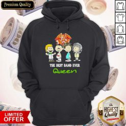 Funny Official Queen Crest Band Hoodie