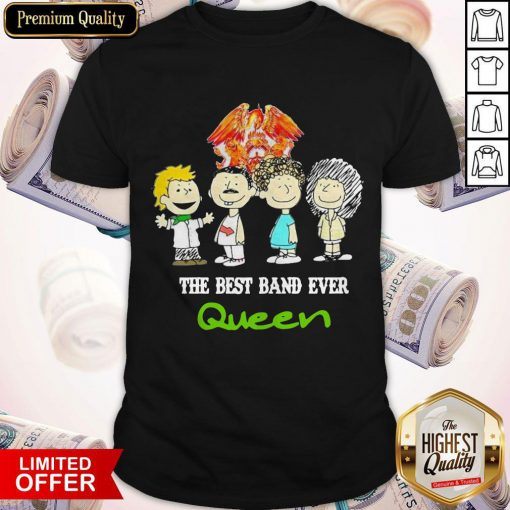 Funny Official Queen Crest Band Shirt