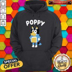 Funny Poppy Bluey Hoodie